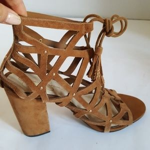 Jessica Simpson Women's Block Heeled Sandal Sz:8.5
